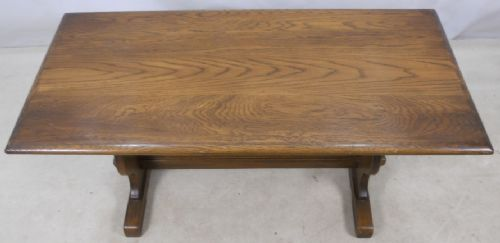 Oak Refectory Style Coffee Table